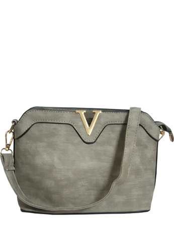 TCWK grey Ladies Sling Bag TC258AC08VQLMY_1