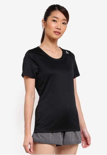 Reebok black Reebok Essentials Short Sleeve Tee RE691AA0SW19MY_1