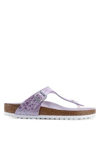 4c9f348278e Shop Birkenstock Gizeh Metallic Stones Sandals Online on ZALORA Philippines