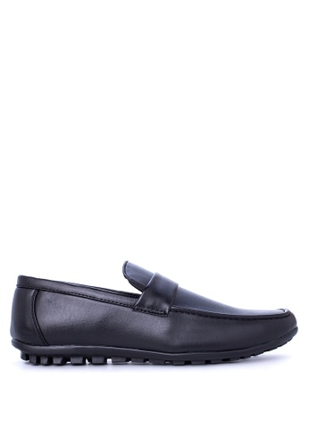 Italianos black Woody Loafers & Moccasins IT153SH88GDFPH_1