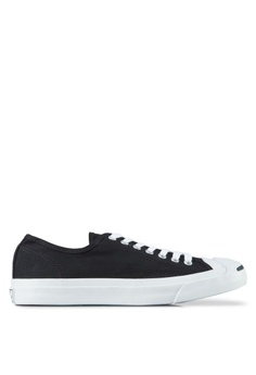 2a6ce8ab2c72 Converse black Jack Purcell Canvas CP Ox Unisex Sneakers CO302SH34BMVSG 1