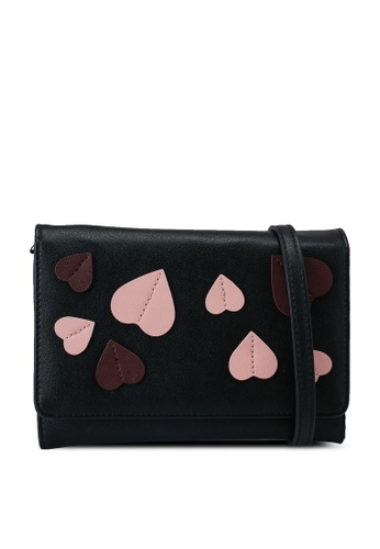 Milliot & Co. black Adora Sling Bag F55F2ACB5117FCGS_1