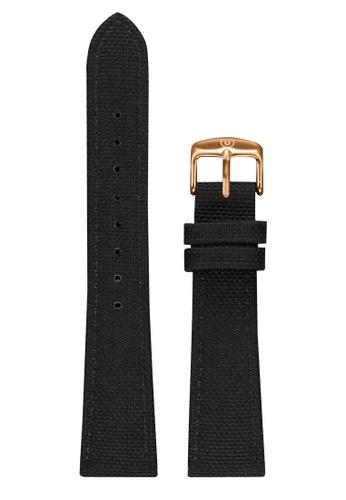 Undone black Undone Black Cordura Strap 20mm (Rose Gold Buckle) UN712AC2VEKEHK_1