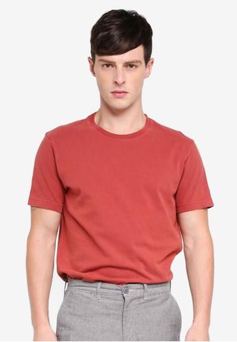 J.Crew red Men's Original T-Shirt D5A44AA98861ADGS_1