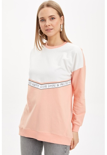 DeFacto pink Woman Knitted Sweat Tunic 24EFBAAF92849AGS_1
