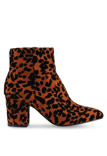 TOPSHOP 多色 Brooklyn 粗跟 靴子 EE4ECSH4534458GS_1