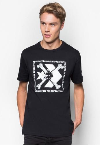 Converse Staesprit 內衣r Chevron 圖文設計T 恤, 服飾, T恤