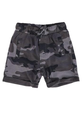 FOX Kids & Baby grey Cotton Shorts F2CE2KA4C506A8GS_1