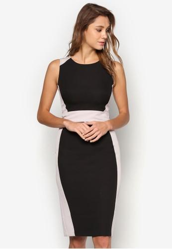 色塊鉛筆洋裝, 服飾esprit 內衣, 洋裝