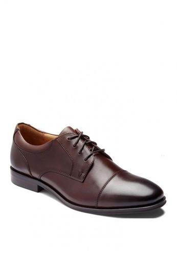 Vionic brown Spruce Shane Oxford Men's Dress Casual 03E4DSH3A9BB67GS_1