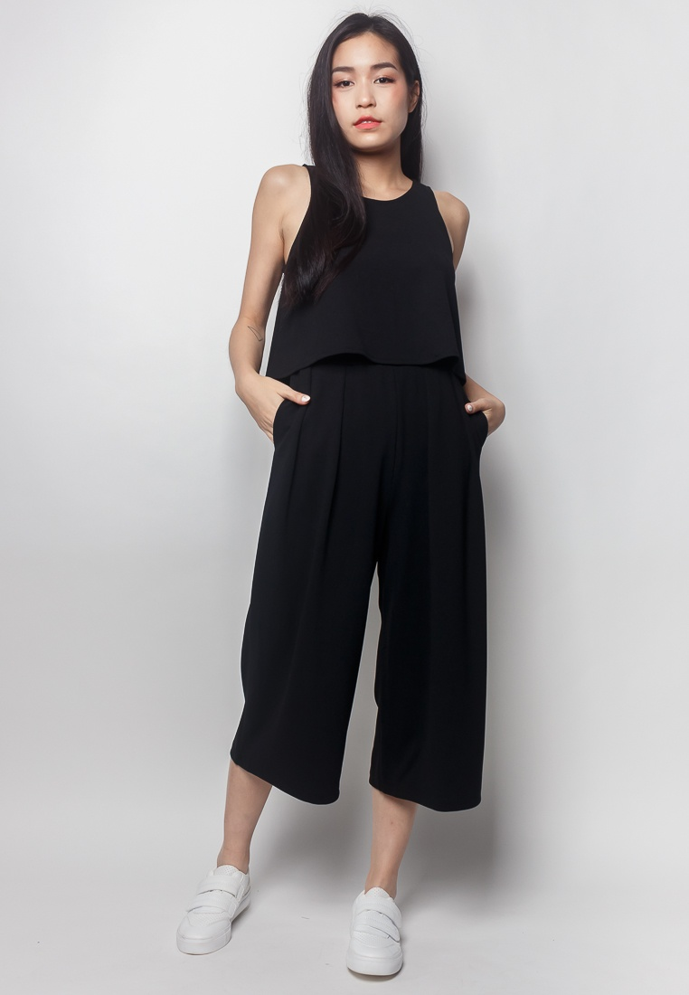 2nd ROXAN Edition Piece black Jumpsuit 2 686wrq
