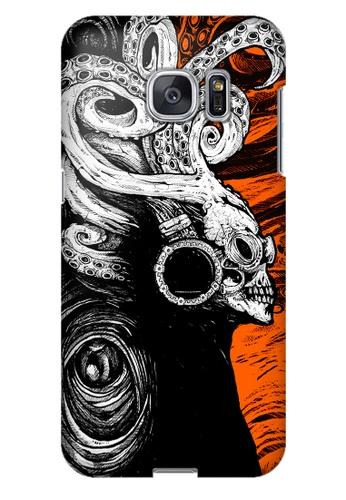 Wonder Cover orange Sound Creep Hard Case for Samsung Galaxy S7 Edge WO617AC37PBYPH_1