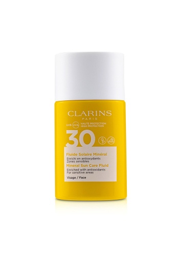 Clarins CLARINS - Mineral Sun Care Fluid For Face SPF 30 - For Sensitive Areas 30ml/1oz FE484BEBE90558GS_1