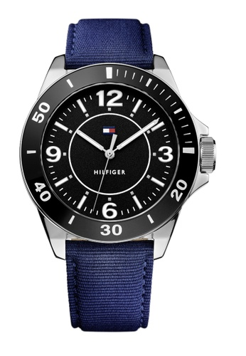 Tommy Hilfiger black Tommy Hilfiger Black Men's Watch (1791285) 15352ACD33A1AEGS_1