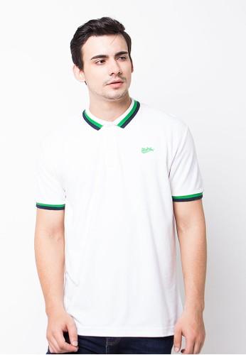 Endorse Polo Shirt E Ndrs Loggo St White END-PE009