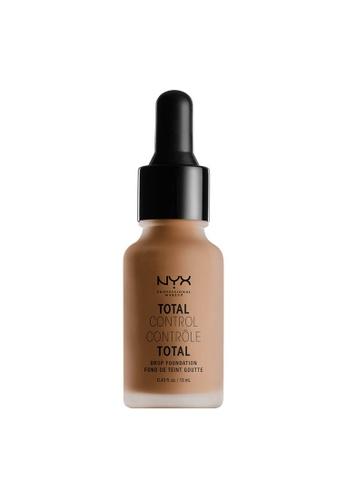 NYX Professional Makeup NYX Professional Makeup Total Control Drop Foundation - CINNAMON CD25EBE76C9C2FGS_1