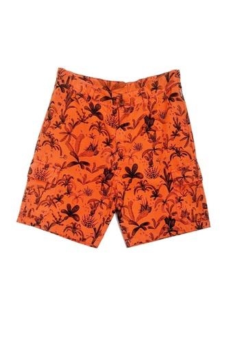 PAUL SMITH JUNIOR orange PAUL SMITH JUNIOR BOYS BERMUDA 6788CKA23E0D2BGS_1