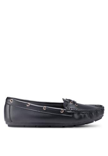 Bata 黑色 懶人樂福鞋 96068SH4C636DEGS_1