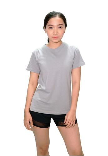 Trijee grey Trijee Women Short Sleeve Tee Callum - Grey 40CEBAAE7500D6GS_1