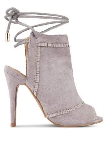 Billini grey Cabrita Heels BI606SH68RILMY_1