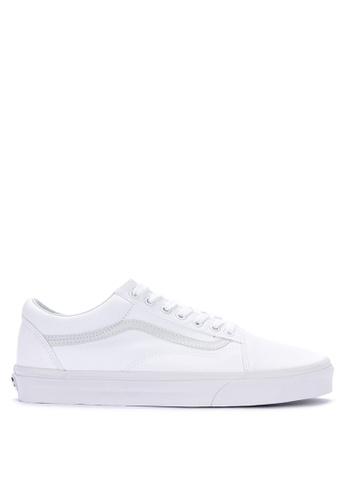 Vans white Old Skool Sneakers 8178DSHA7ED5FBGS_1