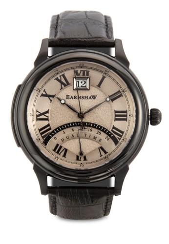 Observatory 羅馬數字真皮手錶, esprit outlet 台中錶類, 飾品配件