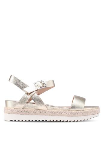 ALDO gold Thialle Sandals 084B6SH4839CFBGS_1