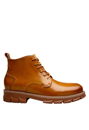 Twenty Eight Shoes brown Classic Leather Business Boots VMB76200 98DCBSH39A8054GS_1