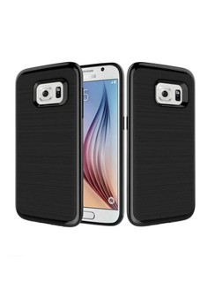 Slim Neo Hybrid Brushed Soft Silicon TPU Case for Samsung Galaxy S7 Edge
