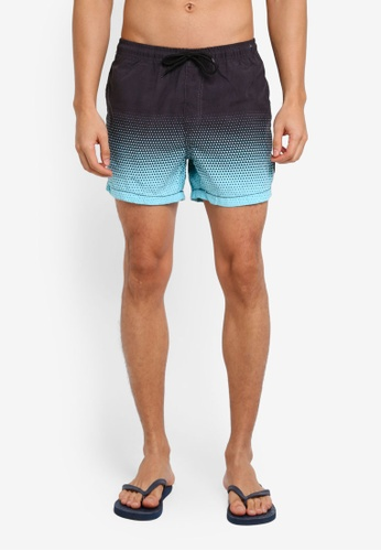 Factorie blue Jose Poolboy Shorts 31C96AAA15F997GS_1