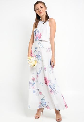 ZALORA multi Bridesmaid Double Layer Maxi Dress 17A13AAD04DB87GS_1
