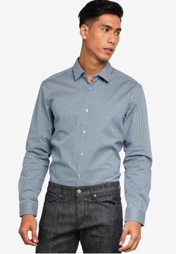 BOSS blue Isko Shirt - BOSS Men FF174AACAE720CGS_1