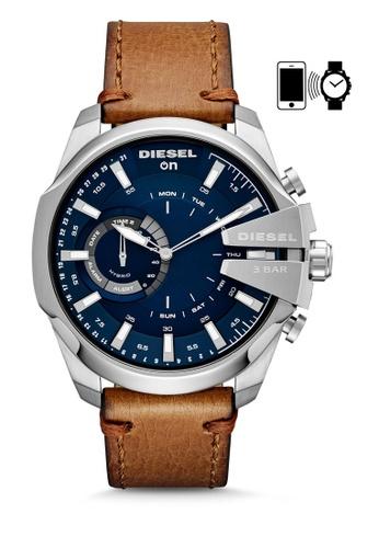 ddf7d1bc1 Diesel brown Diesel Mega Chief Hybrid Smart Watch DZT1009 BB50CACD2BE5FAGS_1