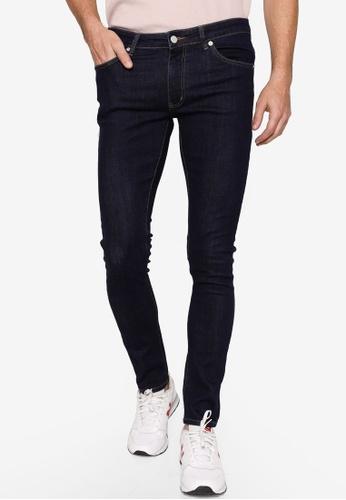 Electro Denim Lab blue Indie Skinny Jeans 401A8AAC7BDD86GS_1