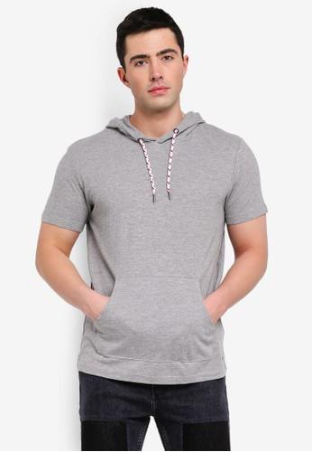 ESPRIT grey Short Sleeve T-Shirt 8EF1AAA486C766GS_1