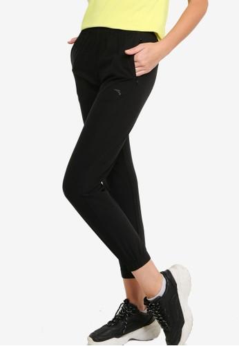 Anta black Cross Training Woven Track Pants A2C22AA490FEE6GS_1