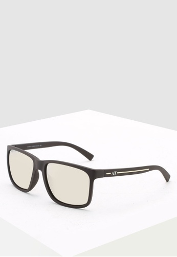 Armani Exchange 褐色 Armani Urban Attitude 0AX4041SF Sunglasses 5B04BGL1B7EC74GS_1