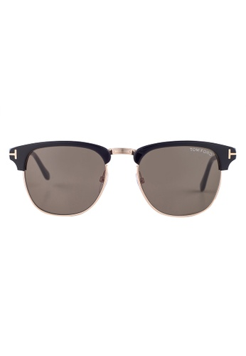 Tom Ford black TOM FORD Henry Browline Black Sunglasses TF248 TO545AC84JIDMY_1