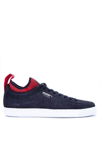 Puma navy Rbr Suede Sneakers BF90DSHA1DF793GS_1