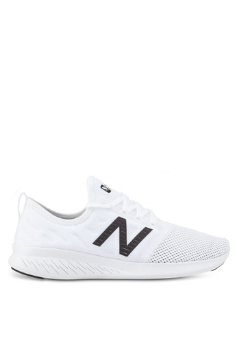 New Balance white Coast Fitness Running Lace Shoes 4615ASHF41A964GS_1