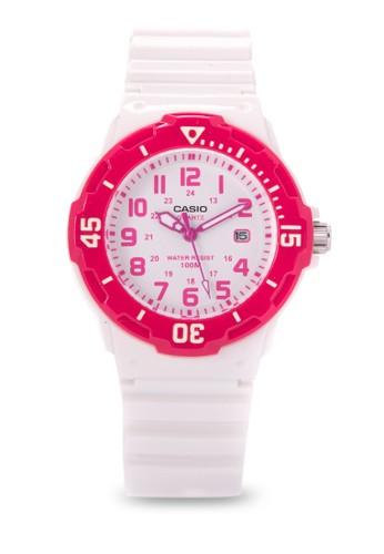 Casio white Casio Jam Tangan Wanita - White Pink - Resin - LRW-200H-4BVDF 76794ACA3DD573GS_1