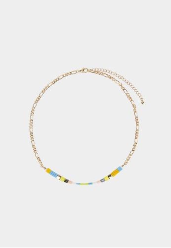 Pomelo gold Sustainable Set of 5 Necklaces - Gold C2C54AC5584D13GS_1