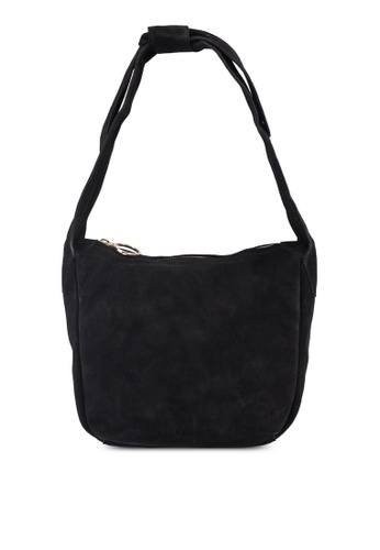 c36ba88cdac Shop MANGO Bow Leather Bag Online on ZALORA Philippines