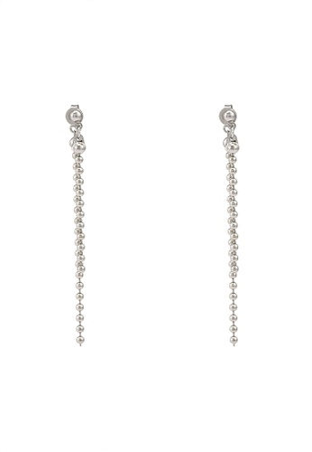 niko and ... silver Beads Chain Earrings 04897ACD88A27DGS_1