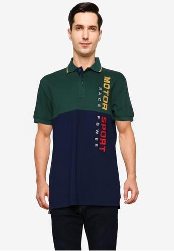 Fidelio green Motor Sport Embroidery Polo Shirt 8E523AA27FFE3DGS_1