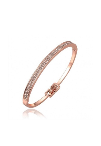 Sopistikada gold Amira Rose Gold Bangle SO776AC56HFZPH_1