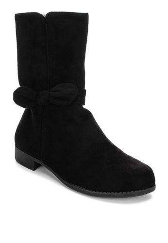 S&H black Georgina Boots 5D3E7KS948DAFBGS_1