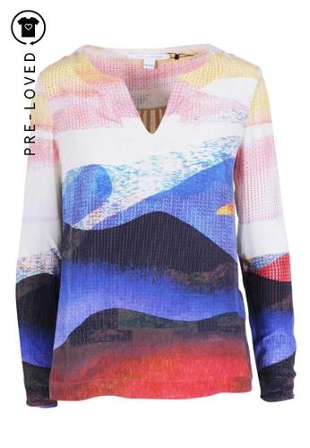 Diane Von Furstenberg multi Pre-Loved diane von furstenberg Jaden Multicolour Tunic Top B5CD6AAF4D61D4GS_1