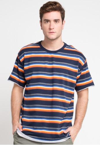 hurley multi Serape Knit T-Shirt C4261AA8A03289GS_1