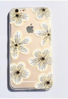 Flower Blossom Soft Transparent Case for iPhone 6 plus/ 6s plus